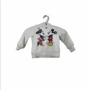 Baby Gap Disney Minnie & Mickey Mouse Kids hoodie